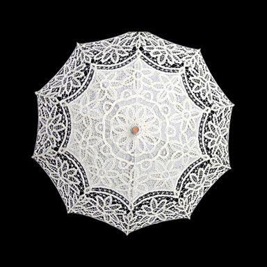 Hochzeit Spitzen Regenschirm Post-Handle ca.96cm 1057888 2016 – ₣26.99