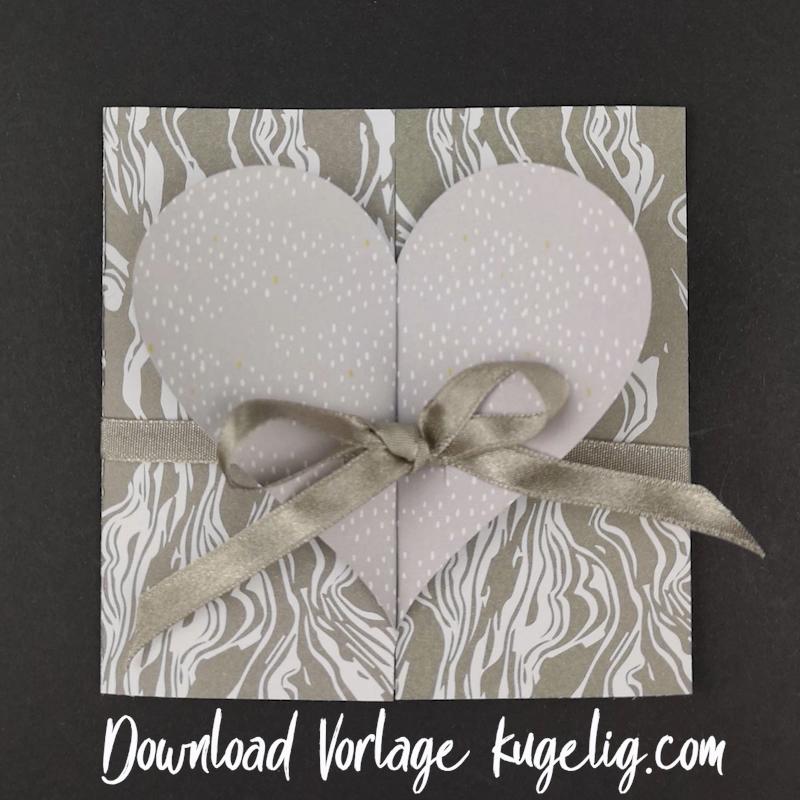 Photo of Schlichte Hochzeitskarte basteln – mit Bastelvorlage & Plotterfreebie