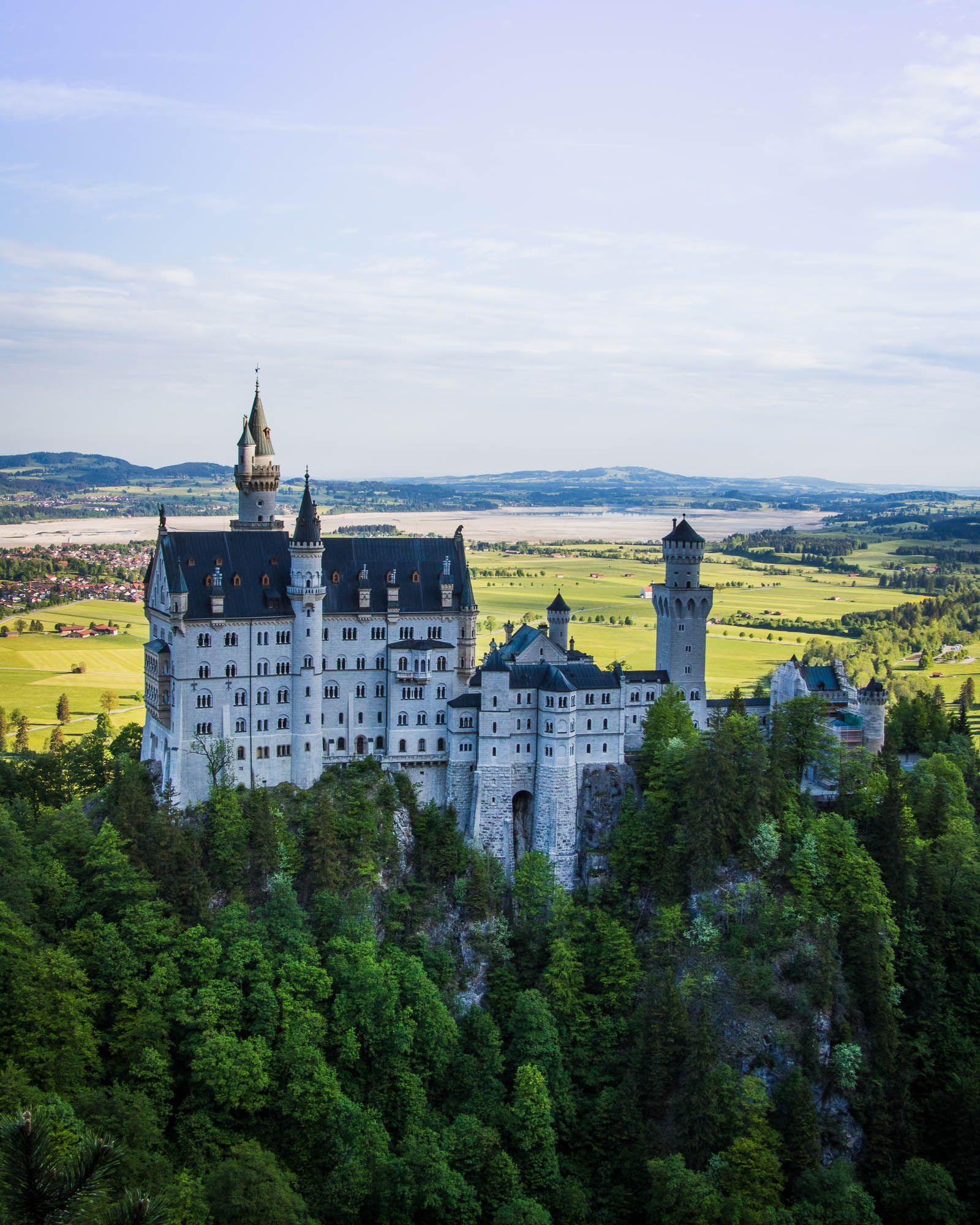 Allgau Fotospots Schloss Neuschwanstein Hohenschwangau Und St Coloman Schloss Neuschwanstein Tourismus Ausflugsziele