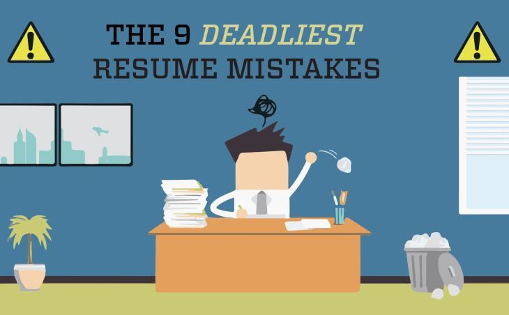 Avoid these resume mistakes College of Liberal Arts Pinterest - 9 resume mistakes to avoid