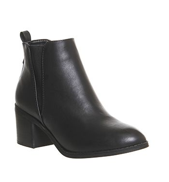 Ankle Boots For Women Black Brown And Grey Office