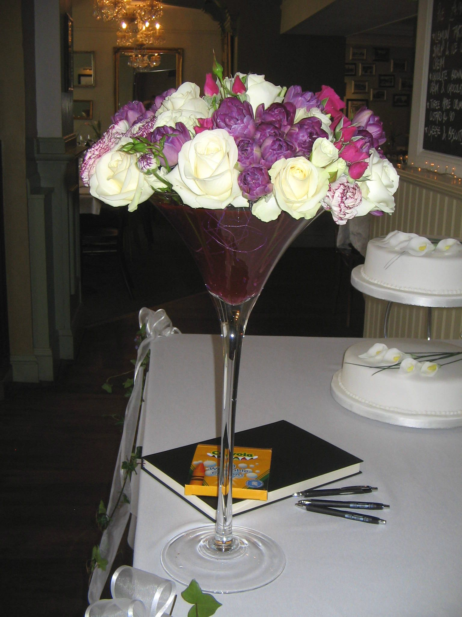 Flowers in a martini glass martini glass glass flower flowers in a martini glass martini glass floridaeventfo Images