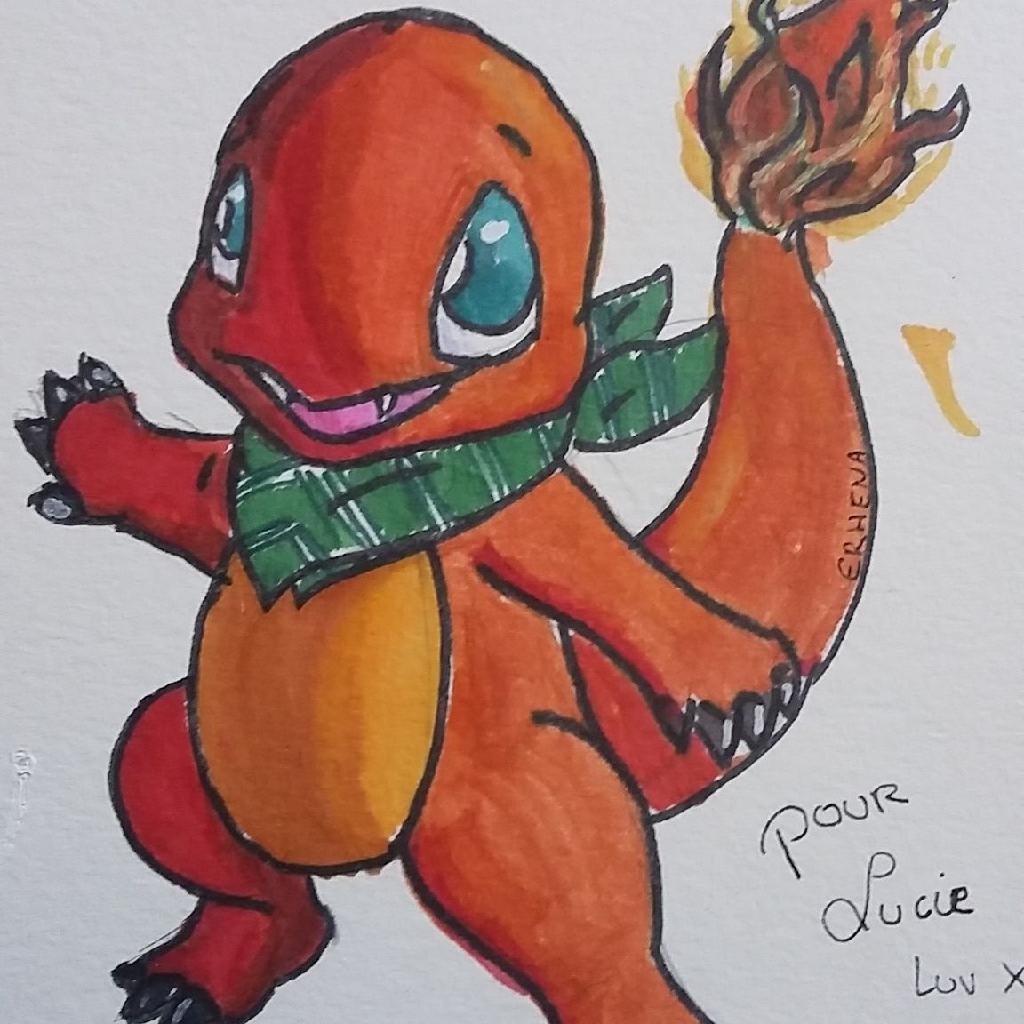 salameche charmander a pokemon for a friend dragon with a