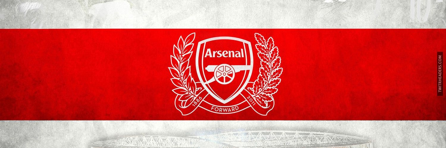 Arsenal Football Club Twitter Header Cover Arsenal Football Club Arsenal Football Club