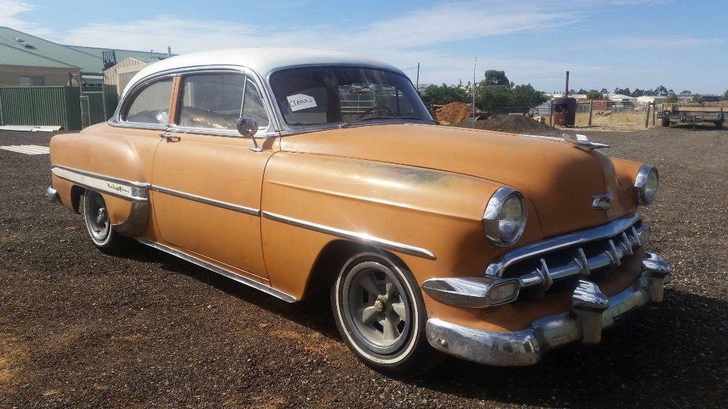 1954 Chevrolet Belair 2 Door Post recent LHD import