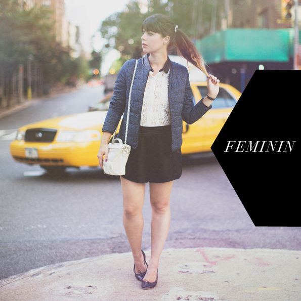Pauline Fashion Blog wearing Melle Plume during New York Fashion Week