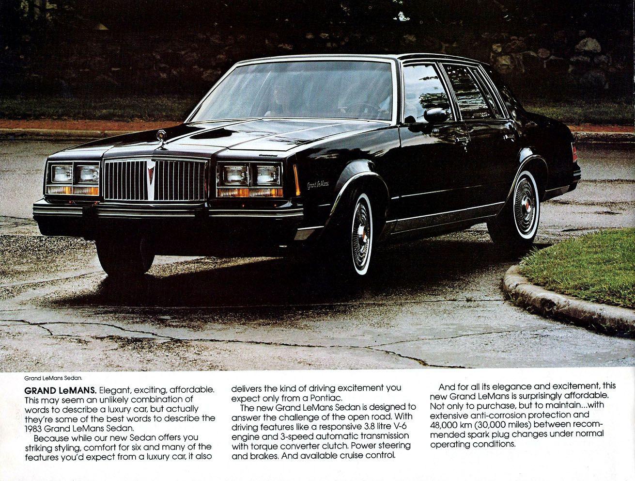hight resolution of 1983 pontiac grand lemans