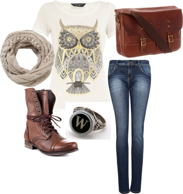 """""""oak and ivory"""" by rosewindow on Polyvore"""