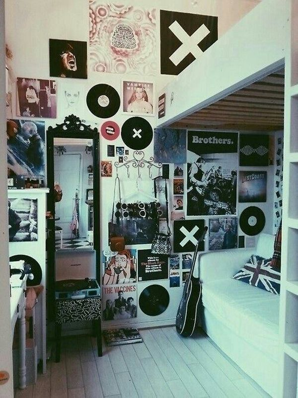 Artsy hipster room ideas that make you inspired.DIY, Design & Decorating  tips for indie hippie room (bedroom, living room, etc)