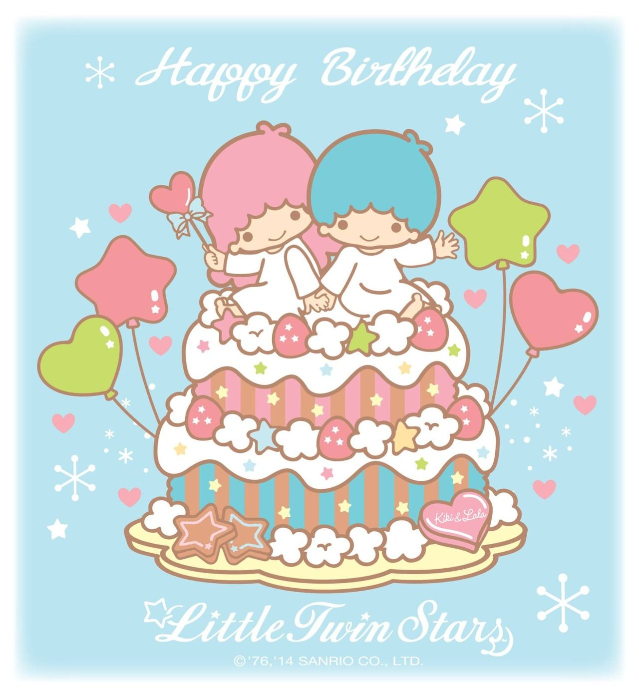 Little twin stars cartoon pinterest twins sanrio and star little twin stars birthday wishes as courtesy of sanrio via collection of tinkevidia kristyandbryce Gallery