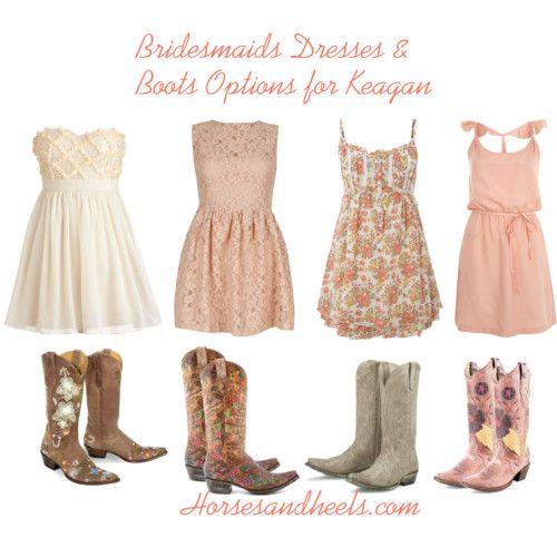 71ceb37c26 vestidos con botas vaqueras