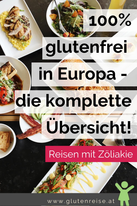 100% glutenfrei in Europa #glutenfreierezepte