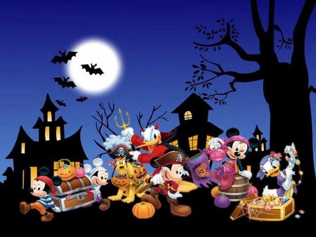 Disney Halloween Halloween Wallpaper Mickey Halloween