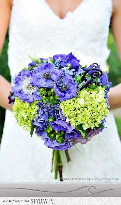 Niebieskie Bukiety Slubne Na Stylowi Pl Wedding Flowers Green Wedding Flowers Green Wedding Bouquet