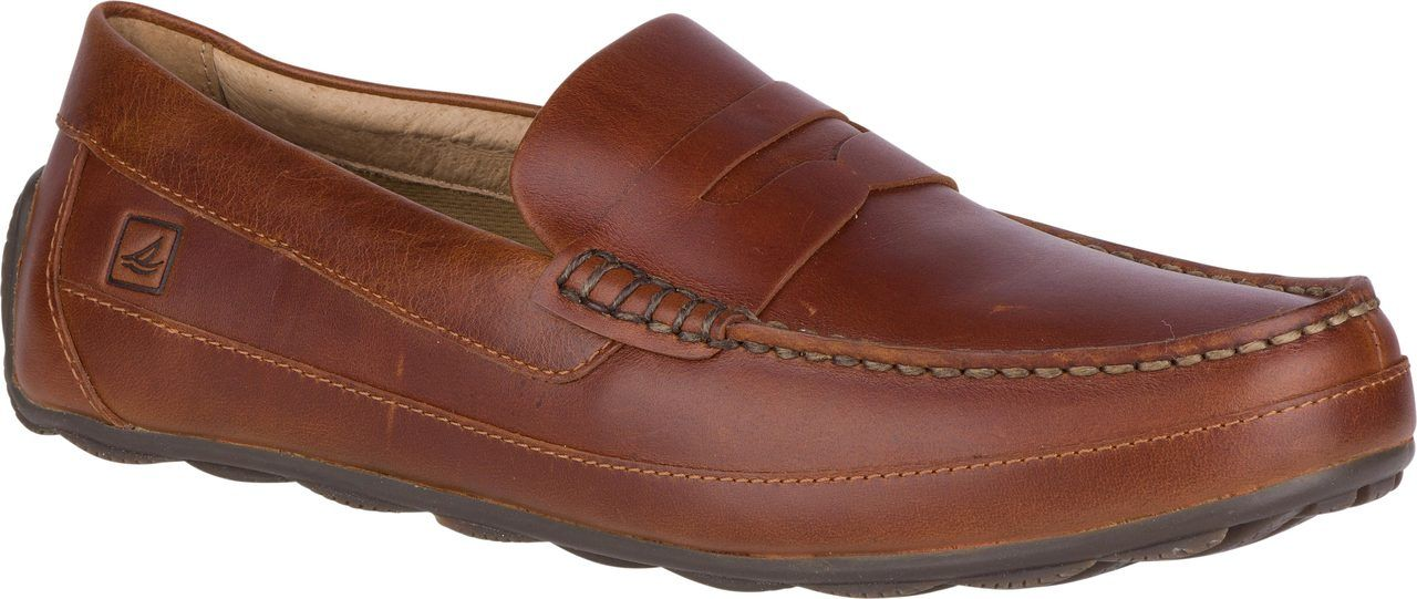 828d83509b9 This Sperry Men s Hampden Penny Loafer dresses up your favorite Sperry  features.