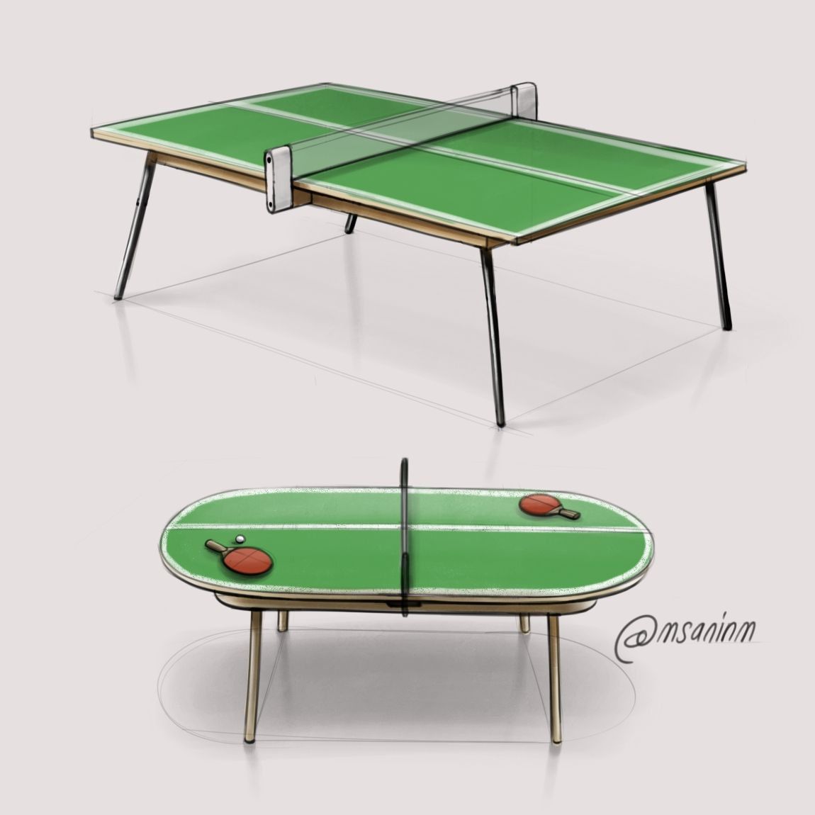 Pin Pong Table Design | PRODUCT DESIGN SKETCHES | Pinterest | Product Design  Sketching And Product Design