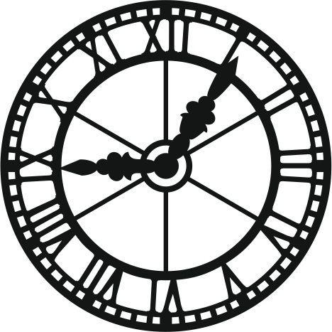 """Résultat de recherche d'images pour """"stencil horloge ..."""