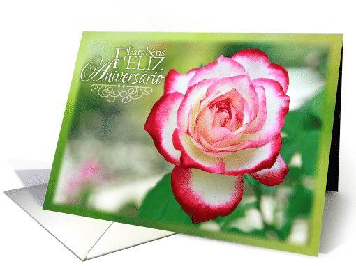 Happy Birthday in Portuguese Parabens Feliz Aniversario card – Portuguese Birthday Cards