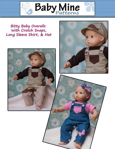 Overalls Bundle 15 Baby Doll Clothes Pattern Baby Doll Clothes Patterns Doll Clothes Boy Doll Clothes