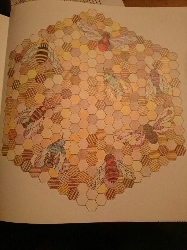 Millie Marotta Animal Kingdom Bees Ilovetea86