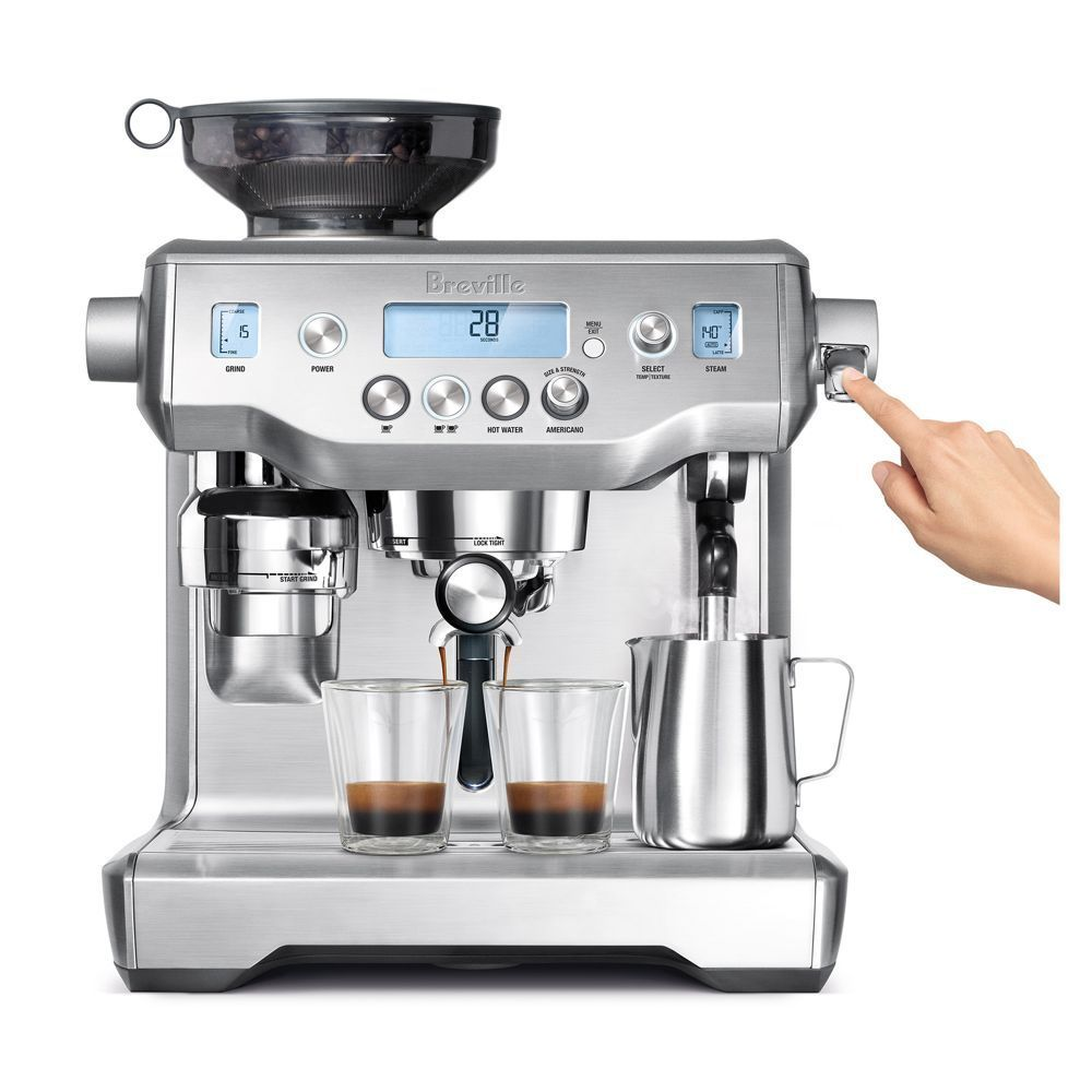Breville The Oracle Silver Automatic coffee machine