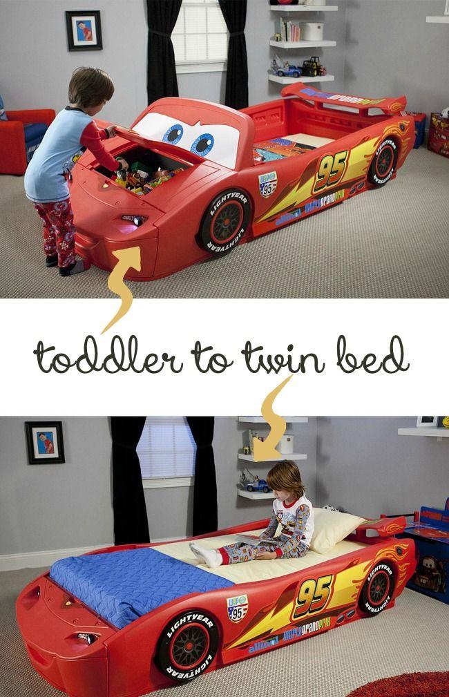 Home Toddler Bed Boy Boys Car Bedroom Toddler Boys Room
