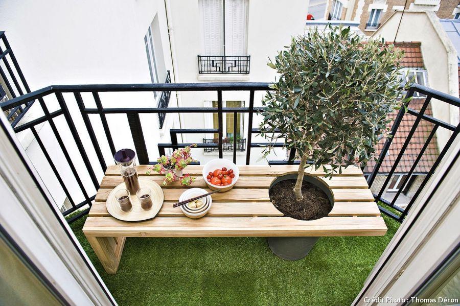 Transformer un balcon en véritable petit jardin | Terrace ...
