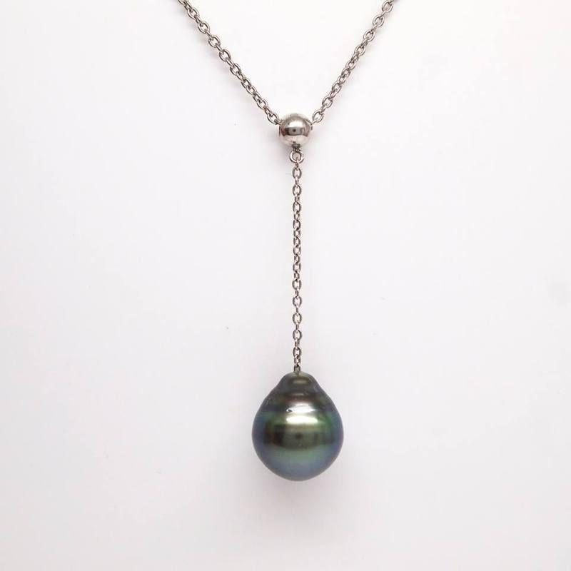 Bridal Choker Black Tahitian Pearl Pearl choker Tahitian Pearl,Black pearl,Dainty pearl Tahitian pearl Pendant choker rose gold pearl