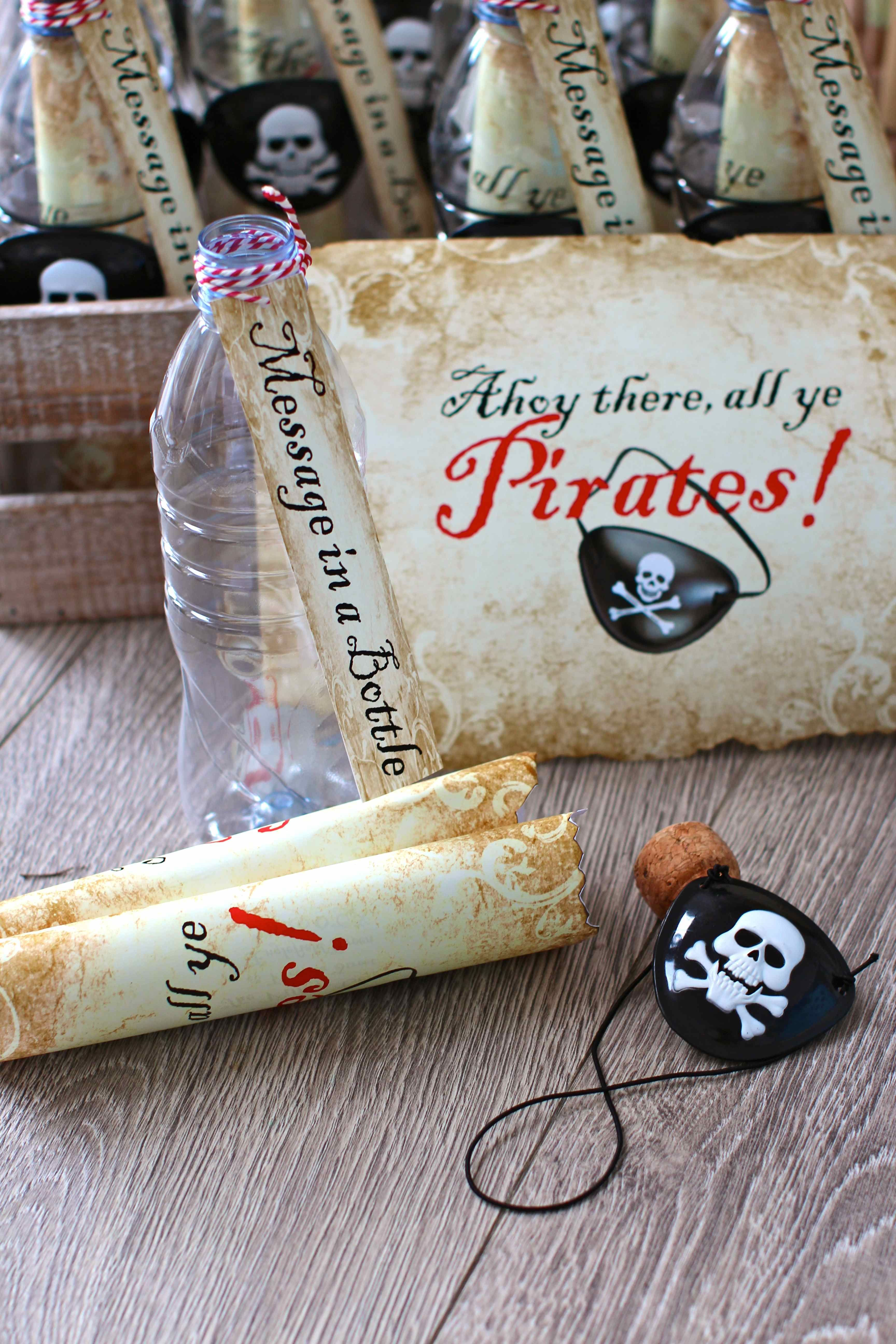 DIY pirate party invitations | Party Ideas | Pinterest | Party ...