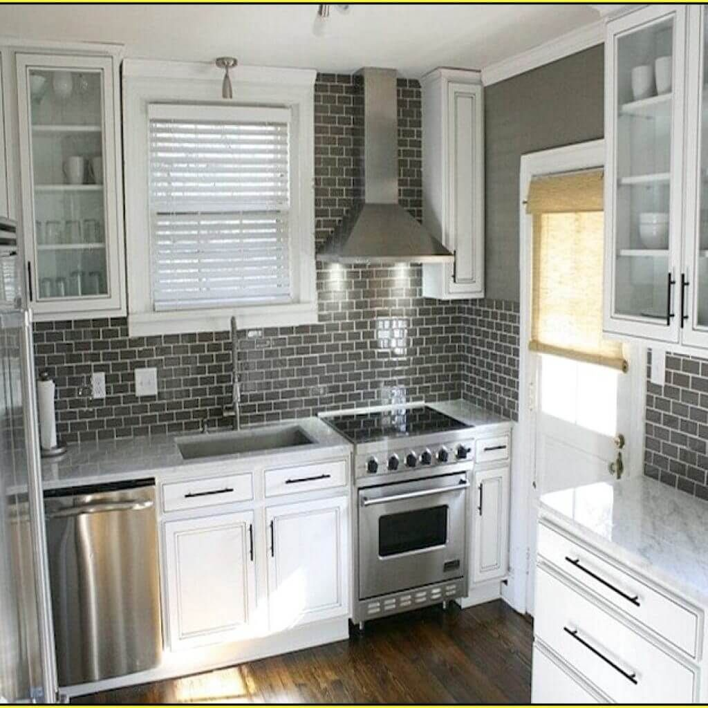 10 Grey Kitchen Backsplash Ideas 2020 Looking Chic In 2020