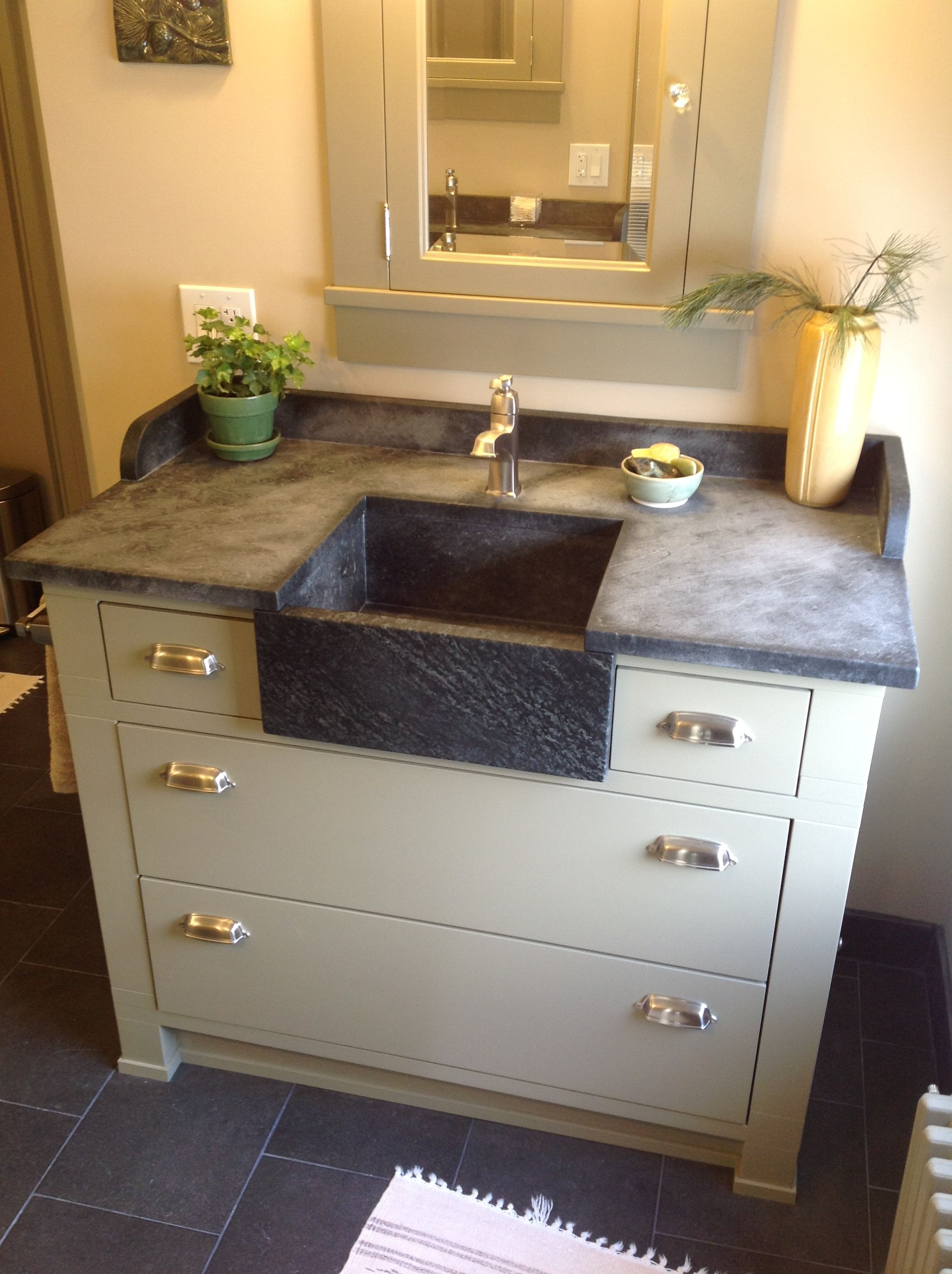 Bathroom Soapstone Sink With Soapstone Countertops Http
