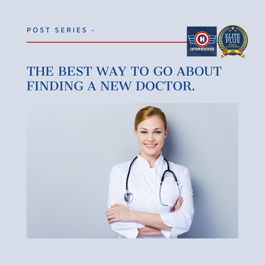 Post Series The Best Way To Go About Finding A New Doctor