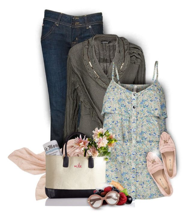 """""""Keep Calm and Go Shopping!"""" by moomoofan1972 ❤ liked on Polyvore featuring Hudson Jeans, Forla Paris, ONLY, Stella & Dot, River Island and Valentino"""