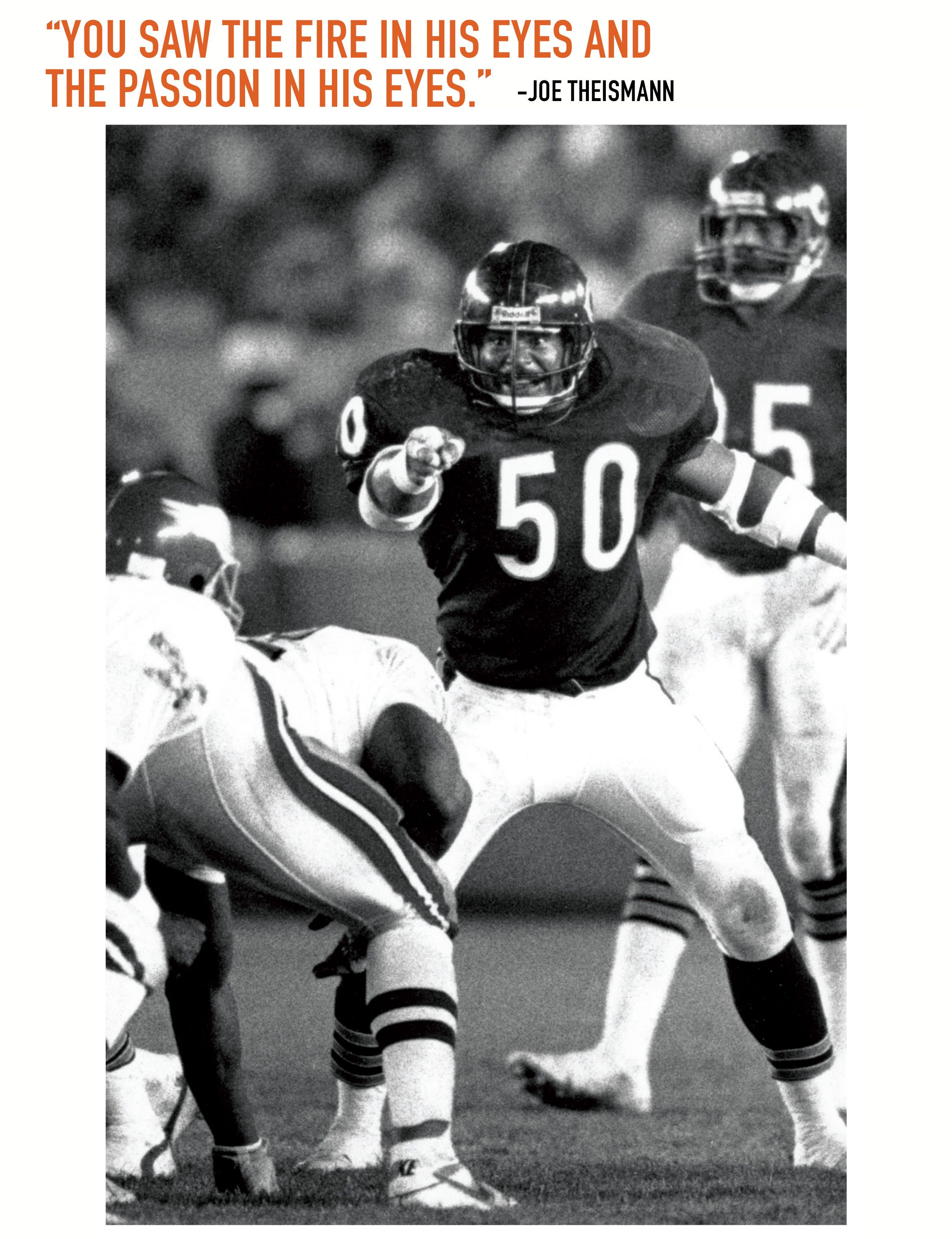 Bears known for superstar middle linebackers Middle