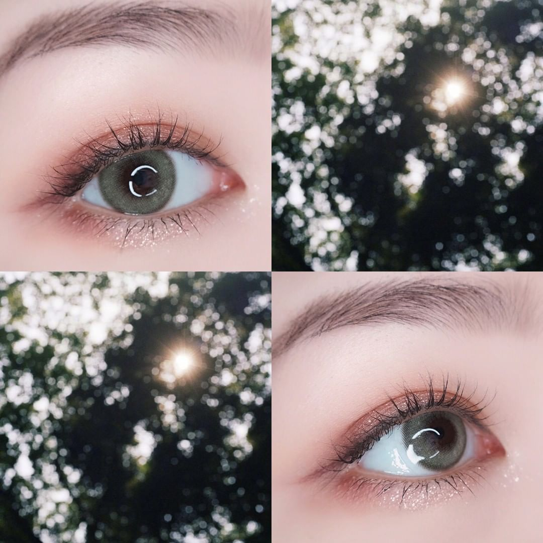 Vcee Aurora Green Colored Contact Lenses Contact Lenses Colored Green Contacts Lenses Green Colored Contacts