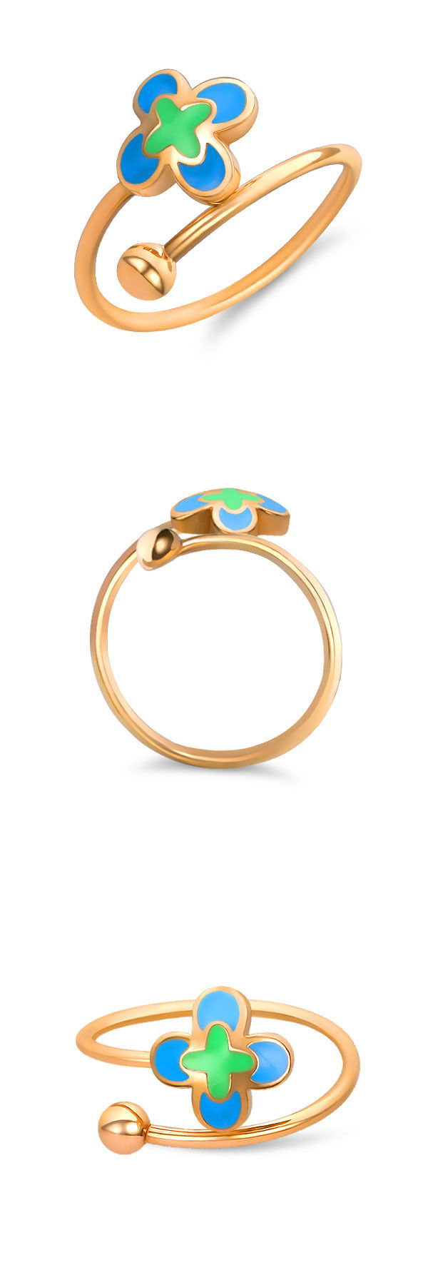 Rings 98477: 14K Gold Baby Ring | Toddler Girl Jewelry | Childrens ...