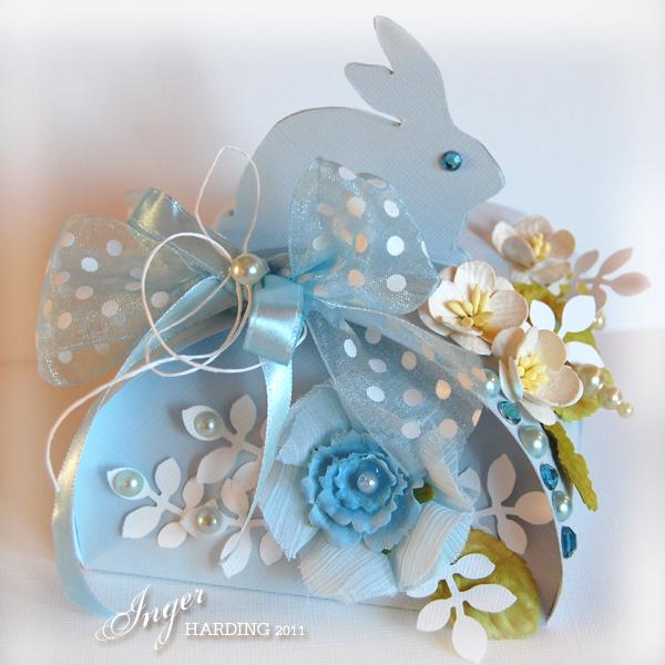 Easter Bunny Box - based on Martha Stewart template