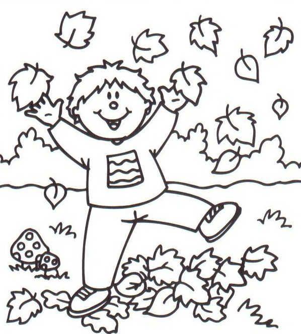 Img dessins a colorier automne herfst pinterest colorier automne et dessin - Dessin d automne facile ...