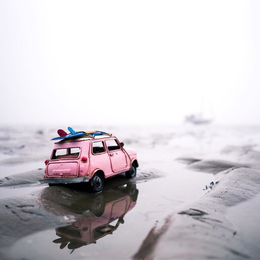 Colour Me Happy Miniature Photography Cool Pictures For Wallpaper Miniature Cars