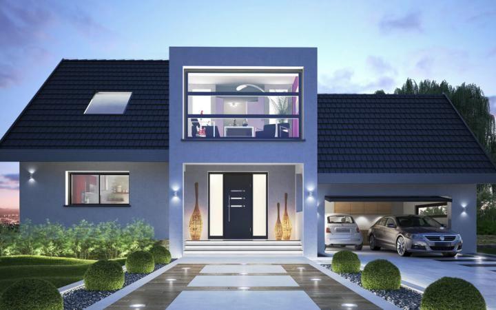 Innovation R Musterhaus Bad Vilbel - #Einfamilienhaus von RENSCH