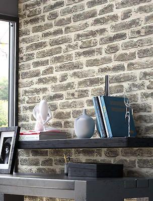tapete stein steinwand vlies mauer anthrazit klinker backstein wand 3d optik neu k che. Black Bedroom Furniture Sets. Home Design Ideas