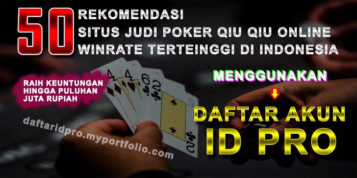 Pin Di Situs Poker V
