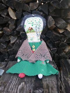 ПРИМИТИВНЫЙ МИР: Кукла с вышивкой Воспоминание о детстве ...