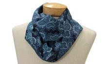 Lynch - Beaufinity Scarf from Beau Ties Ltd. Available in any fabric - to match your Mr., of course! Handmade in Vermont. $49.