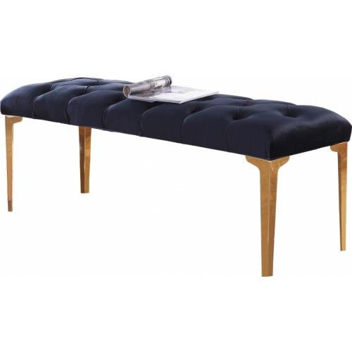 Excellent Black Velvet Bench Gold Legs Red Dining Chairs Black Gold Beatyapartments Chair Design Images Beatyapartmentscom