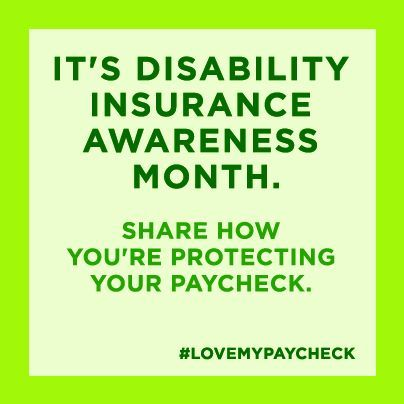 Disability Insurance Quote Disability Insurance Awareness Month  Council For Disability