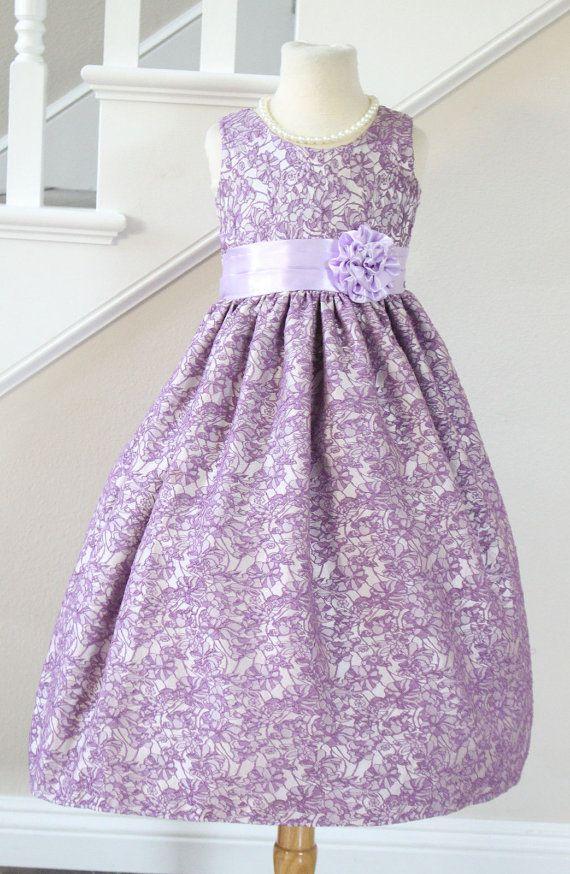 Image result for lavender purple floral brocade gown