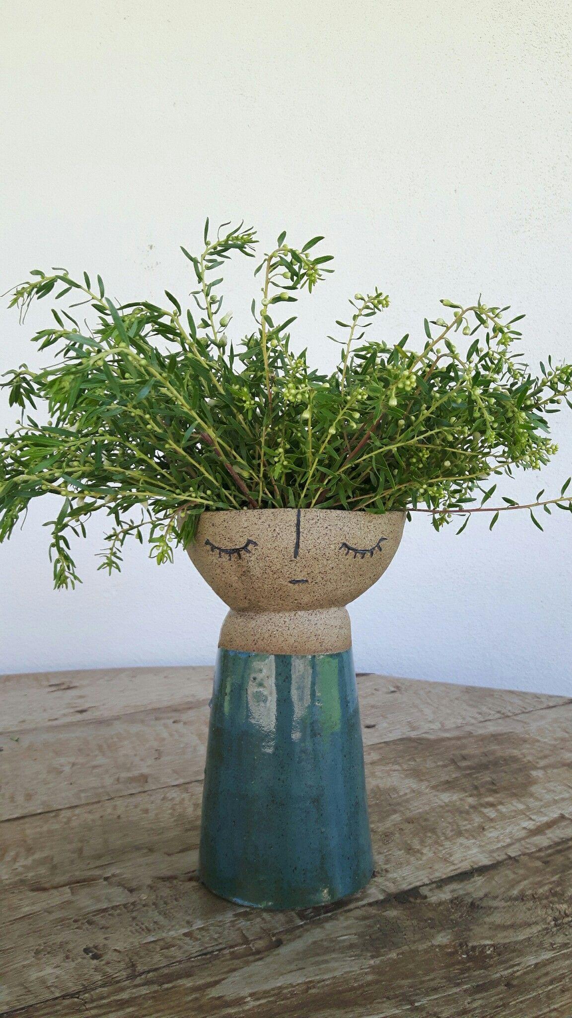 Vaso de Cerâmica Dolce Lari feito a mão. Handmade / Fatto a mano / Slow Design / Pottery
