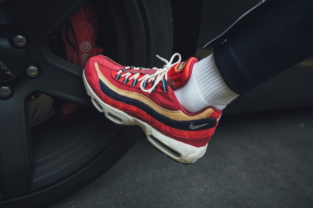 nike air max 95 premium red crush