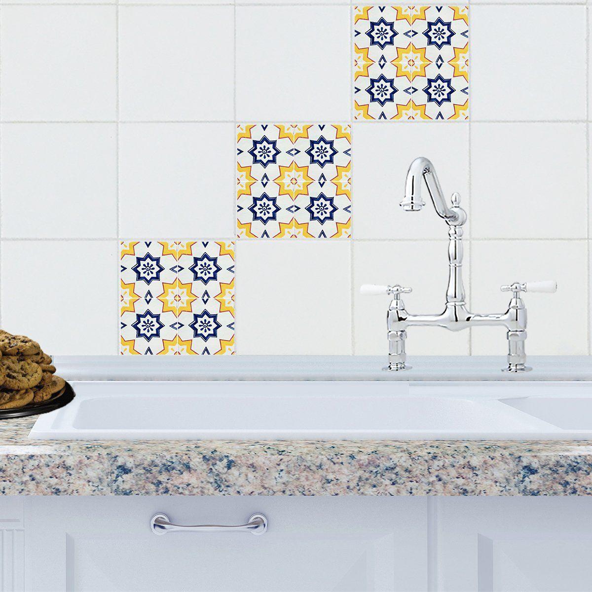 Mosaic Malaga Tile Decals   Tile decals, Malaga and Mosaics